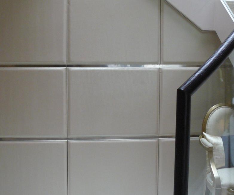 Leather Wall Paneling : Zavos interiors leather walls doors floors